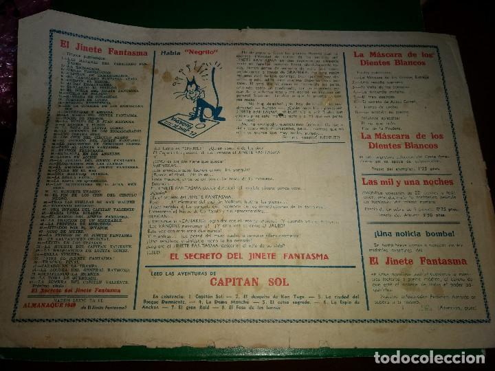Tebeos: El jinete fantasma nº 61 la sombra del capitán valiente ORIGINAL - Foto 2 - 198112487