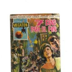 Tebeos: MEGATON 7 DIAS PARA EL FIN. Lote 198192427