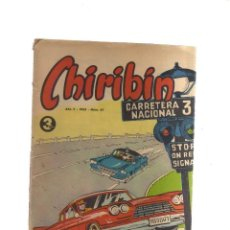 Tebeos: CHIRIBIN AÑO V - 1965 - N,67. Lote 198304692