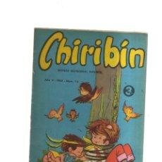Tebeos: CHIRIBIN AÑO V - 1965 - N,76. Lote 198305062
