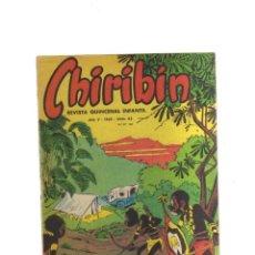 Tebeos: CHIRIBIN AÑO V - 1965 - N,82. Lote 198305137