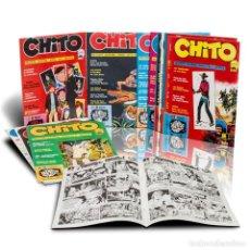 Tebeos: CHITO REVISTA JUVENIL. NUMEROS 1 AL 17 EXCEPTO EL 4 Y E16. MARTIN PAVON 1974. Lote 209198988