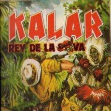 Tebeos: KALAR REY DE LA SELVA. NUMERO 6. PRODUCCIONES EDITORIALES. Lote 198399645