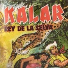 Tebeos: KALAR REY DE LA SELVA. NUMERO 7. PRODUCCIONES EDITORIALES. Lote 198399690