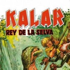 Tebeos: KALAR REY DE LA SELVA. NUMERO 12. PRODUCCIONES EDITORIALES. Lote 198399768
