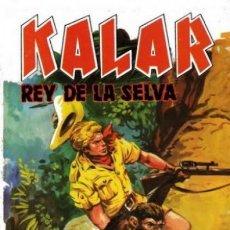 Tebeos: KALAR REY DE LA SELVA. NUMERO 14. PRODUCCIONES EDITORIALES. Lote 198399848