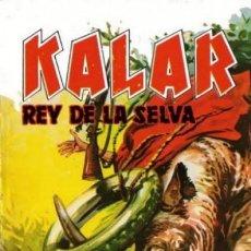 Tebeos: KALAR REY DE LA SELVA. NUMERO 16. PRODUCCIONES EDITORIALES. Lote 198399915