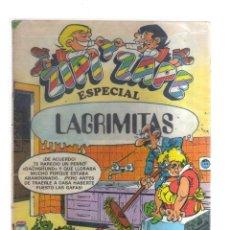 Tebeos: ZIPI Y ZAPE ESPECIAL LAGRIMITAS. Lote 198400523