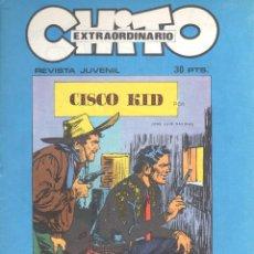 Tebeos: JOSE LUIS SALINAS. CISCO KID. LOTE DE 7 NUMEROS DE CHITO EXTRAORDINARIO DEDICADOS A CISCO KID. Lote 198523088