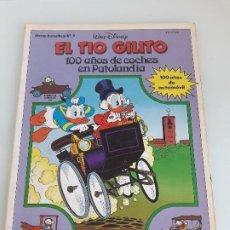Tebeos: EL TIO GILITO - 100 AÑOS DE COCHES DE PATOLANDIA - DISNEY - AUTOALBUM Nº 2 - MONDIBERICA - 1986. Lote 198684676