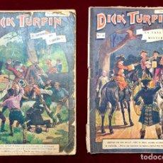Tebeos: DICK TURPIN N° 1 (EL FANTASMA DEL CASTILLO) Y Nº 15 (LA CASA MISTERIOSA) . Lote 198917362