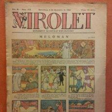 Tebeos: VIROLET. ANY III NÚM 153. BARCELONA DÉCEMBRE 1924. SUPLEMENT IL·LUSTRAT RAT D'EN PATUFET. Lote 199004733