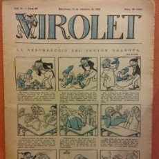Livros de Banda Desenhada: VIROLET. ANY II NÚM 89. BARCELONA SETEMBRE 1923. SUPLEMENT IL·LUSTRAT RAT D'EN PATUFET. Lote 199033130