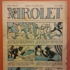 Tebeos: VIROLET. ANY II NÚM 54. BARCELONA GENER 1923. SUPLEMENT IL·LUSTRAT RAT D'EN PATUFET. Lote 199034833