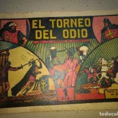 Tebeos: EL GUERRERO DEL ANTIFAZ Nº 4 VALENCIANA ORIGINAL 1 PESETA. Lote 199247288