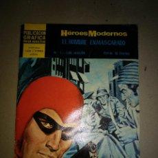 Tebeos: HÉROES MODERNOS. EL HOMBRE ENMASCARADO. Nº1: LOS MALOS - FALK, LEE. Lote 199247965