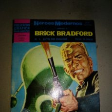 Tebeos: BRICK BRADFORD Nº 1 ENTRE DOS ENEMIGOS HÉROES MODERNOS DOLAR 1966. Lote 199248162