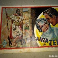 Tebeos: DIAMANTE NEGRO LA VENGANZA DE ZEIN ORIGINAL EDICIONES RIALTO AÑOS 40. Lote 199317348