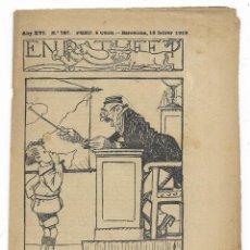 Tebeos: EN PATUFET. ANY XVI Nº-787 BARCELONA 15 FEBRER DE 1919. Lote 199455032