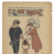 Giornalini: EN PATUFET. ANY XVI Nº-802 BARCELONA 14 JUNY DE 1919. Lote 199456782