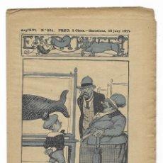 Tebeos: EN PATUFET. ANY XVI Nº-804 BARCELONA 28 JUNY DE 1919. Lote 199457067