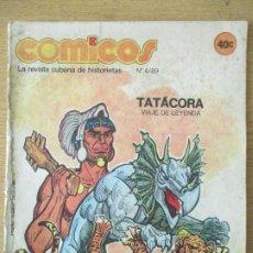 Tebeos: TEBEO CUBA. COMICOS. Nº 4 AÑO 4. 1989. EDITORIAL PABLO DE LA TORRIENTE. LA REVISTA JUVENIL CUBANA. Lote 199477201