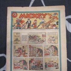 Tebeos: TEBEO INFANTIL - MICKEY Nº 60 - 25 DE ABRIL DE 1936 - EDITORIAL MOLINO - WALT DISNEY. Lote 200895862