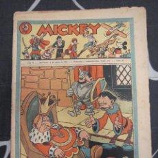 Tebeos: TEBEO INFANTIL - MICKEY Nº 66 - 6 DE JUNIO DE 1936 - EDITORIAL MOLINO - WALT DISNEY. Lote 200948736