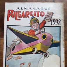 Tebeos: ALMANAQUE PULGARCITO 1932. Lote 201200005