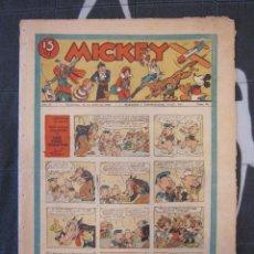 Tebeos: TEBEO INFANTIL - MICKEY Nº 59 - 18 DE ABRIL DE 1936 - EDITORIAL MOLINO - WALT DISNEY. Lote 201238838