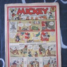 Tebeos: TEBEO INFANTIL - MICKEY Nº 35 - 2 DE NOVIEMBRE DE 1935 - EDITORIAL MOLINO - WALT DISNEY. Lote 201240782