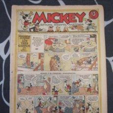 Tebeos: TEBEO INFANTIL - MICKEY Nº 36 - 9 DE NOVIEMBRE DE 1935 - EDITORIAL MOLINO - WALT DISNEY. Lote 201330057