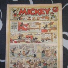 Tebeos: TEBEO INFANTIL - MICKEY Nº 38 - 23 DE NOVIEMBRE DE 1935 - EDITORIAL MOLINO - WALT DISNEY. Lote 201330877