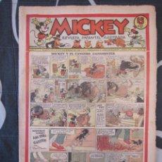 Tebeos: TEBEO INFANTIL - MICKEY Nº 43 - 28 DE DICIEMBRE DE 1935 - EDITORIAL MOLINO - WALT DISNEY. Lote 201483340