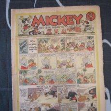 Tebeos: TEBEO INFANTIL - MICKEY Nº 44 - 4 DE ENERO DE 1936 - EDITORIAL MOLINO - WALT DISNEY. Lote 201483766