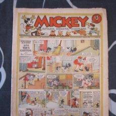 Tebeos: TEBEO INFANTIL - MICKEY Nº 40 - 7 DE DICIEMBRE DE 1935 - EDITORIAL MOLINO - WALT DISNEY. Lote 201484473