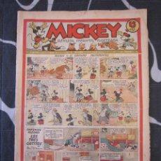 Tebeos: TEBEO INFANTIL - MICKEY Nº 41 - 14 DE DICIEMBRE DE 1935 - EDITORIAL MOLINO - WALT DISNEY. Lote 201530136