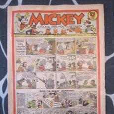 Tebeos: TEBEO INFANTIL - MICKEY Nº 47 - 25 DE ENERO DE 1936 - EDITORIAL MOLINO - WALT DISNEY. Lote 201596631