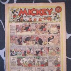 Tebeos: TEBEO INFANTIL - MICKEY Nº 46 - 18 DE ENERO DE 1936 - EDITORIAL MOLINO - WALT DISNEY. Lote 201597098