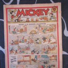 Tebeos: TEBEO INFANTIL - MICKEY Nº 39 - 30 DE NOVIEMBRE DE 1935 - EDITORIAL MOLINO - WALT DISNEY. Lote 201852940