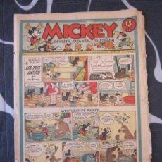 Tebeos: TEBEO INFANTIL - MICKEY Nº 33 - 19 DE OCTUBRE DE 1935 - EDITORIAL MOLINO - WALT DISNEY. Lote 201994538
