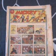 Tebeos: TEBEO INFANTIL - MICKEY Nº 58 - 11 DE ABRIL DE 1936 - EDITORIAL MOLINO - WALT DISNEY. Lote 201996632