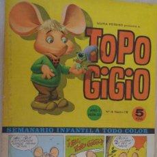 Tebeos: TOPO GIGIO Nº 23. EDITA SEMIC 1964. PUBLICIDAD FANTA. Lote 203285568