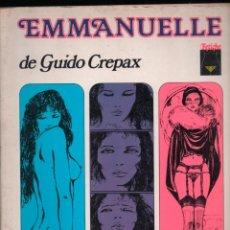 Tebeos: COMIC EMMANUELLE - GUIDO CREPAX. Lote 203775548