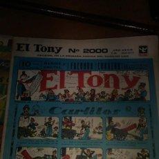 Tebeos: EL TONY N.2000 EXTRAORDINARIO 100 PAG.BATMAN SERIE, HISTORIA DEL TEBEO EN TONY DESDE 1928. Lote 203911780