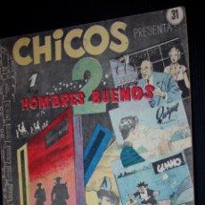 Tebeos: CHICOS Nº 31 ( DE 69) (EDICIONES CID-MADRID-).ORIGINAL DE 1955. Lote 204080447
