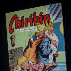 Tebeos: CHIRIBIN Nº 44 [DE 135] (EDICIONES DOMINGO SAVIO).PUBLICADO EL 15-I-1964. Lote 204083647