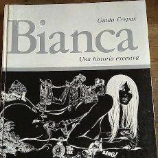 Tebeos: BIANCA - GUIDO CREPAX (+ RECORTABLE). Lote 204143897