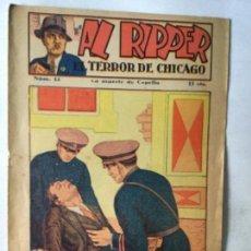 Tebeos: AL RIPPER - TERROR DE CHICAGO - 15 CTS. Lote 204497288