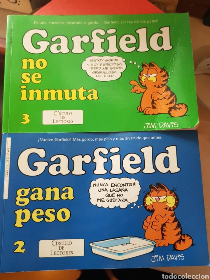 GARFIELD 2 TEBEOS DEL CÍRCULO DE LECTORES 1998 (Tebeos y Comics - Tebeos Otras Editoriales Clásicas)